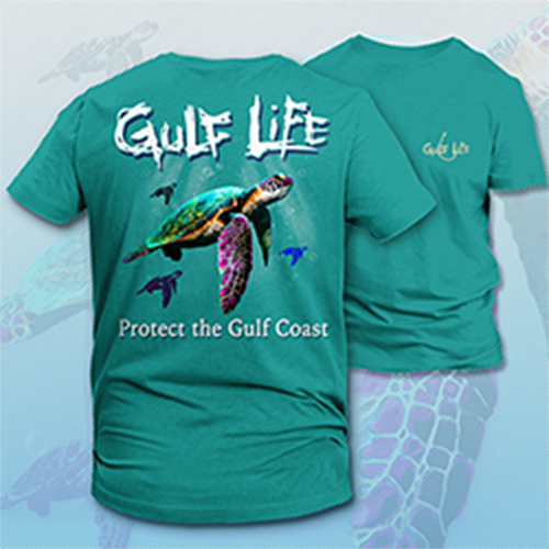 Gulf Life - Protect The Gulf Coast - Sea Turtle