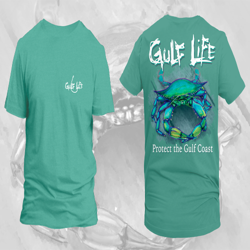 Gulf Life - Protect The Gulf Coast - Blue Crab