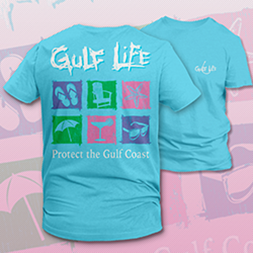 Gulf Life - Protect The Gulf Coast - Flip Flops